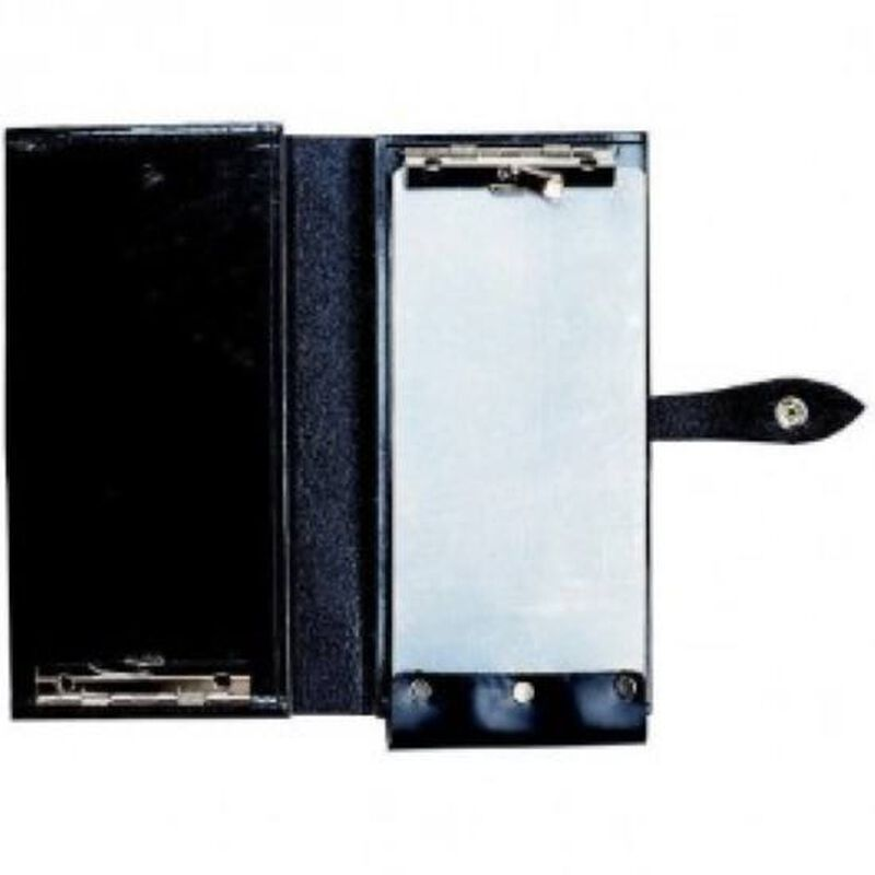 Aker Leather Double Citation Book Black