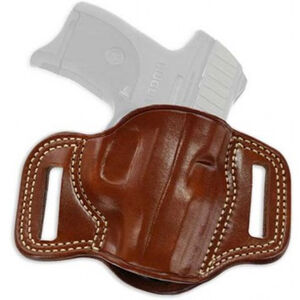 Galco Combat Master CZ 75B Belt Slide Holster Right Hand Leather Tan