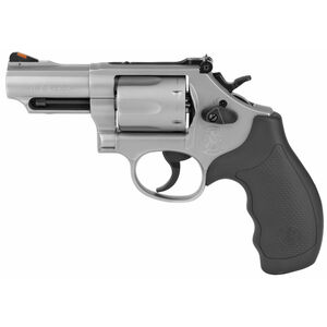 """S&W Model 66 Combat Magnum .357 Magnum Revolver 2.75"""" Barrel 6 Rounds Adjustable Sights Synthetic Grips Stainless Steel"""