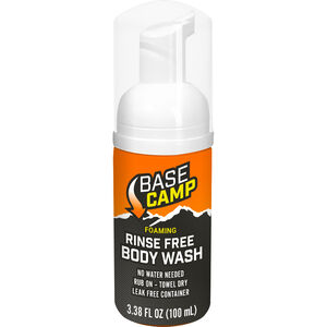 Dead Down Range Base Camp Foaming Rinse Free Body Wash 3.38oz Unscented