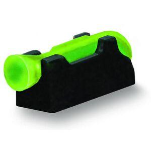 HiViz Front Sight Shotgun Bead Threaded Optic Fiber Family Steel Black SK2011