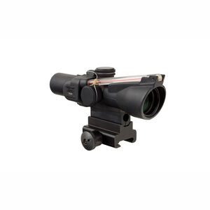 Trijicon 1.5x24 Compact ACOG BAC Scope Dual Illuminated Red 8 MOA Triangle Reticle With TA60 Mount And M16 Carry Handle Base