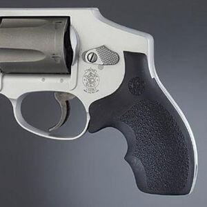 Hogue Grip S&W J Frame Round Butt Bantam Style Rubber Black 61000