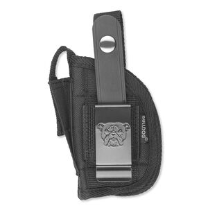 """Bulldog Cases Fusion Belt Holster Semi Autos with Light/Laser 2"""" Barrels Size 19S Right Hand Black"""