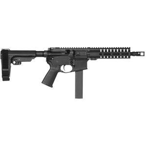 "CMMG Banshee 200 Mk9 9mm Luger AR-15 Semi Auto Pistol 8.5"" Barrel 32 Rounds Uses Colt SMG Magazines RML7 M-LOK Handguard CMMG Micro/CQB RipBrace Black Finish"