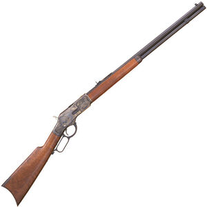 "Cimarron 1873 Sporting Lever Action Rifle .357 Mag 24"" Octagon Barrel 13 Rounds Case Hardened Receiver Walnut Stock Blued CA272"
