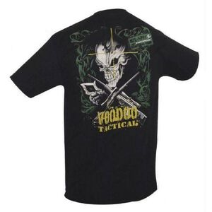 Voodoo Tactical T shirt Cotton Extra Large Black