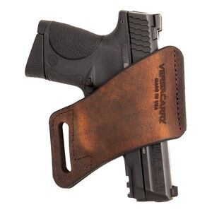 VersaCarry Arma Zero Bulk 1911 Belt Holster Right Hand Leather Distressed Brown