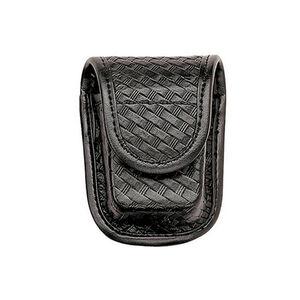 Bianchi Model 7915 AccuMold Elite Pager/Glove Holder Brass Snap Plain Black