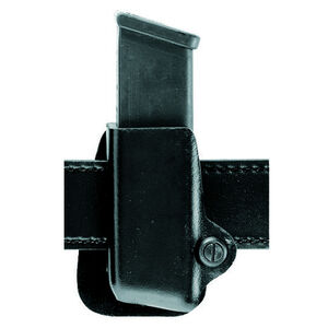 Safariland Model 074 Open Top Single Magazine Paddle Mount Pouch Safariland Group 6 GLOCK SIG H&K and Similar Left Hand Draw STX Tactical Finish Black