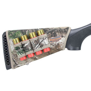 Beartooth Products StockGuard 2.0 Right Hand Shotgun Stock Cover with Ammo Carrier Realtree Xtra