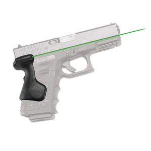 Crimson Trace Lasergrips for GLOCK Gen 3 19/23/25/32 Rear Activation Green Laser Sight Black LG-639G
