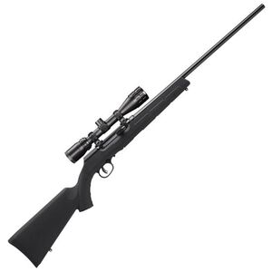"Savage A17 XP Semi Auto Rifle .17 HMR 22"" Barrel 10 Rounds Synthetic Stock Bushnell 3.5-10x36 Scope Blued 47011"