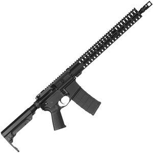 "CMMG Resolute 200 MK4 5.56 NATO AR-15 Semi Auto Rifle 16"" Barrel 30 Rounds RML15 M-LOK Handguard RipStock Collapsible Stock Black Finish"