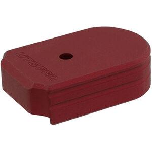 UTG PRO +0 Base Pad, SIG P320 9/40, Matte Red Aluminum
