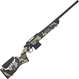 "Mossberg MVP LR - Thunder Ranch 7.62 NATO Bolt Action Rifle 20"" Threaded Barrel 10 Rounds Picatinny Rail KUIU Vias Camo Wood Stock Blued Finish"
