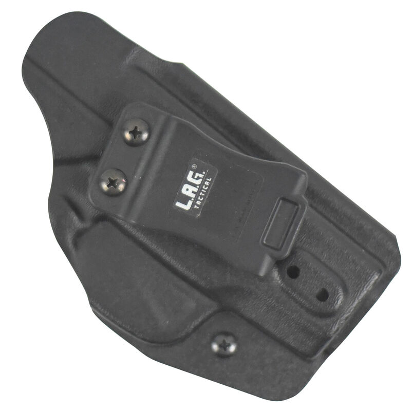 L.A.G. Tactical Liberator MKII IWB/OWB Holster GLOCK 19/23/32 Ambidextrous Draw Kydex Black