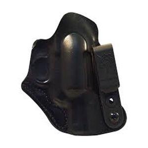 DeSantis Flex-Tuk IWB Holster Right Hand Tuckable Fits Kimber K6S Leather Black