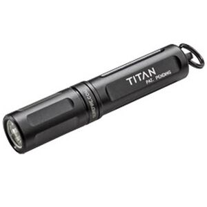 Surefire Titan Ultra Compact LED Keychain Flashlight Dual Output 125/15 Lumens AAA Battery Black TITAN-A