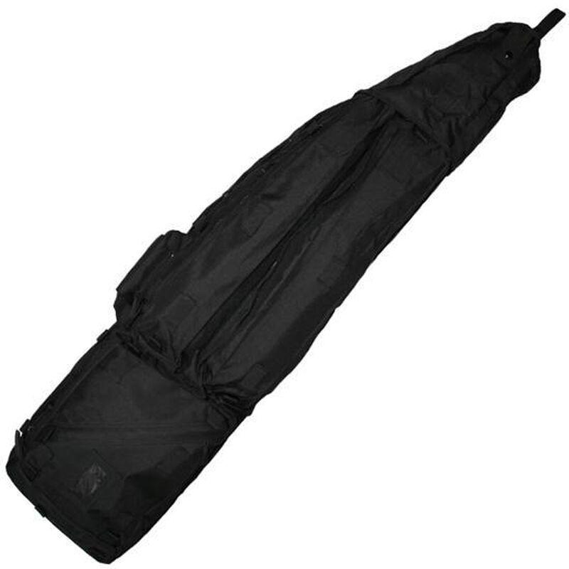 "NcStar Double Rifle Drag Bag Padded 45""x10""x4"" Shoulder Strap Nylon Black"