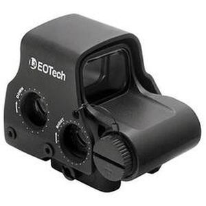 EOTech EXPS3 Holographic Weapon Sight 65 MOA Ring and 1 MOA Dot Raised 7mm Quick Detach Picatinny Base Black Finish EXPS3-4