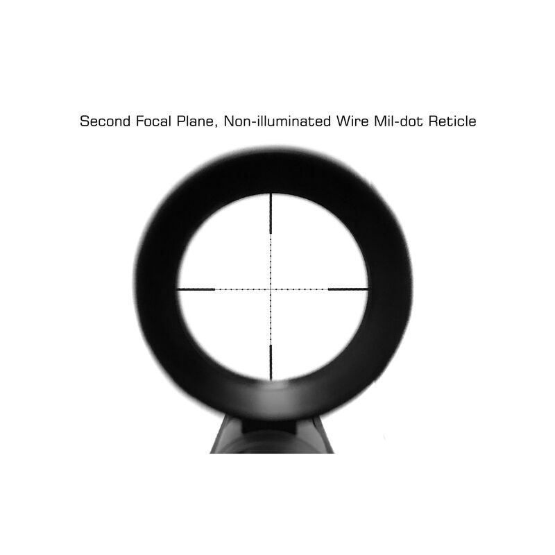 UTG Classic 3-12x44 30mm Mil-Dot Scope SCP3-3124EAOW