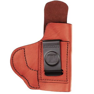 Tagua Gunleather SS 1836 Soft Holster GLOCK 26/27/33 and Similar IWB Right Hand Draw Premium High Quality Leather Brown Finish