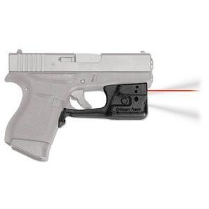 Crimson Trace LaserGuard Pro Light/Laser Combo GLOCK 42/43 150 Lumen LED White Light/5mW Red Laser Polymer Housing Matte Black