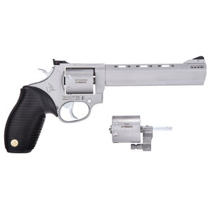 "Taurus Tracker 692 .38 Spl/.357 Mag/9mm Double Action Revolver 6.5"" Barrel 7 Rounds Fixed Front Sight/Adjustable Rear Sight Ribber Grip Matte Stainless Finish"