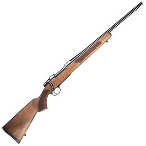 "CZ 557 Sporter Short Action .243 Winchester Bolt Action Rifle 20.5"" Barrel 4 Rounds Turkish Walnut American Style Stock Blued Finish"