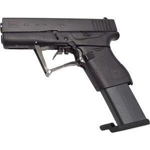 "Full Conceal M3D G43 9mm Luger Folding Semi Auto Pistol 10 Rounds 3.39"" Barrel Polymer Frame Black"