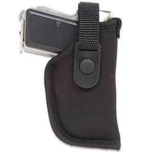 "Gunmate Hip Holster Size 00 Right Hand Fits Small Frame Pistols 2.25"" Barrels Synthetic Black"