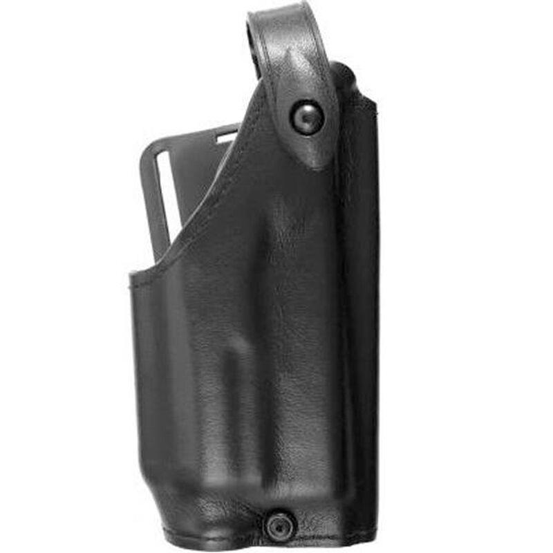 Safariland 6280 SLS Level II Retention Duty Holster Mid Ride Right Hand GLOCK 17, 22 with Light, Plain Finish Black 6280-8321-61