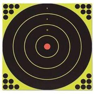 "Birchwood Casey Shoot-N-C Self Adhesive 12"" Round Bullseye Target 12 Pack 34022"