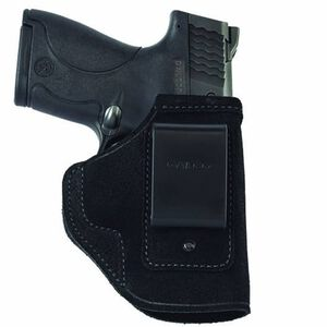 """Galco Stow-N-Go S&W J-Frame 3"""" IWB Holster Revolver Right Hand Leather Black STO164B"""