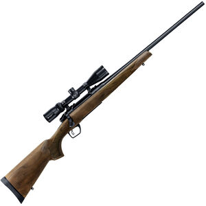 """Remington 783 Combo Package Bolt Action Rifle .300 Win Mag 24"""" Barrel 3 Rounds with Vortex 3-9x40 Scope and Crossfire Trigger Walnut Stock Blued"""