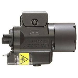 Streamlight TLR-4 Compact C4 LED Weapon Light and Laser For H&K USP Compact 110 Lumen 3V CR2 Battery Toggle Switch High Impact Polymer Body Black 69241