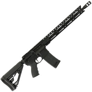 "Diamondback Firearms DB15E AR-15 Semi Auto Rifle .300 BLK 30 Rounds 16"" Barrel M-LOK Handguard Collapsible Stock Black"