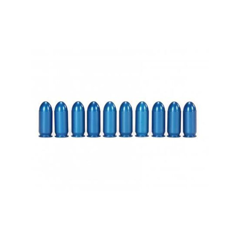 A-Zoom .45 Auto Snap Caps Aluminum Blue 10 Pack 15315