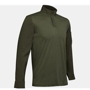 Under Armour Men's Tactical Combat Shirt Size XL Cotton Blend Marine OD Green