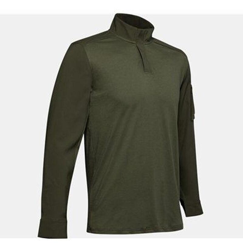 Under Armour Men's Tactical Combat Shirt Size Large Cotton Blend Dark Navy