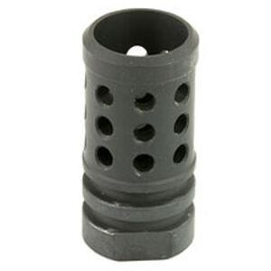 Angstadt Arms Flash Hider 9mm Luger Threaded 1/2x36 4041 Hardened Steel Nitride Finish Matte Black