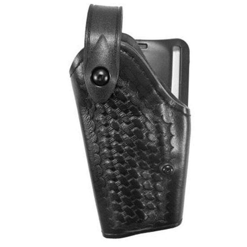 Safariland SLS Mid-Ride Level II Duty Holster, GLOCK 19, 26 Model 6280, Left Hand, Basket Weave Finish Black 6280-283-82