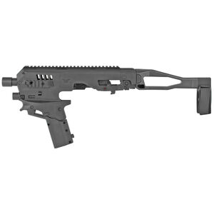CAA Micro Roni Gen 2 Kit Fits GLOCK 20/21 Chassis Pistol Brace Polymer Black Finish MCK21GEN2