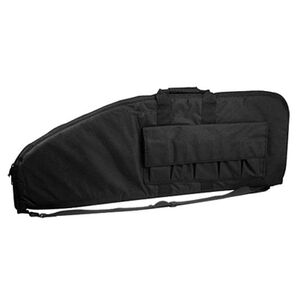 "VISM Scoped Rifle Soft Case 48"" with Magazine Pockets Nylon Black CVS2907-48"