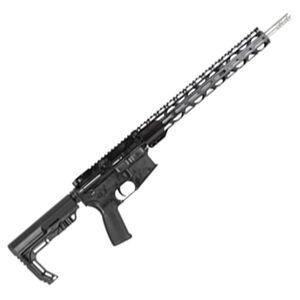 "Radical Firearms 6.5 Grendel AR Semi-Auto Rifle 16"" Barrel 15 Rounds Flat Top Optics Ready B5 Bravo Stock Black Finish"