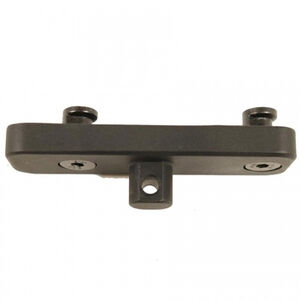 Guntec AR-15 Bipod Adapter for KeyMod System Aluminum Steel Black