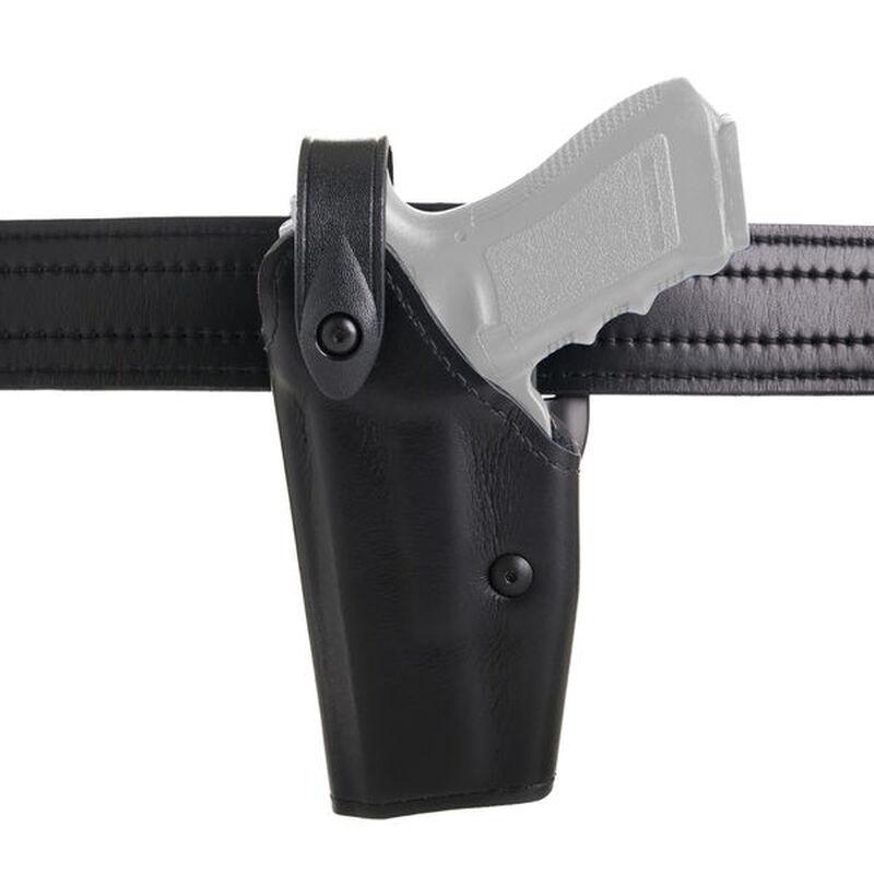 Safariland Model 6280 SLS Mid-Ride Duty Belt Holster Fits GLOCK 20/21 with ITI M6 Left Hand Safarilaminate Plain Black