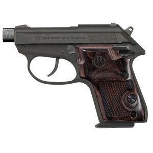 "Beretta 3032 Tomcat Covert .32 ACP Semi Auto Pistol 2.9"" Threaded Barrel 7 Rounds Walnut Grips Fixed Sights Blued/Black Anodized Finish"