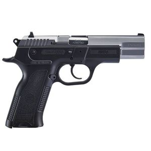"""Sarsilmaz B6 Semi Auto Pistol 9mm Luger 4.5"""" Barrel 17 Rounds Fixed Sights Manual Thumb Safety External Hammer Polymer Frame Two Tone Finish"""